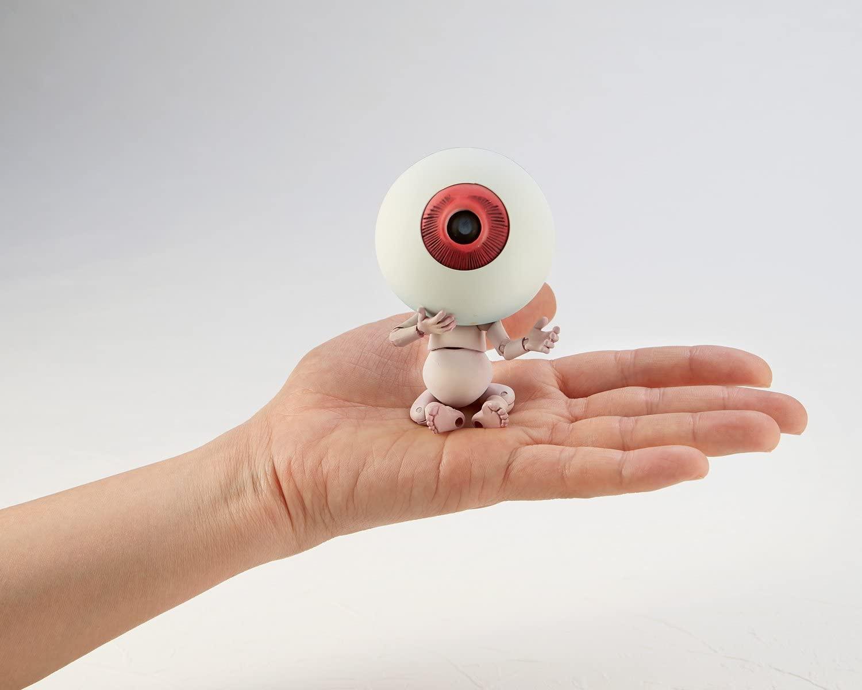 ゲゲゲの鬼太郎立体絵巻 目玉おやじ 全高約100mm PVC&ABS製 塗装済み 可動フィギュア